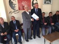 ALI ASLAN - CHP'nin Malatya'daki İlk Adayı Belli Oldu