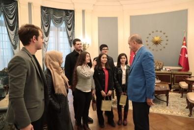 Erdoğan gençlerle görüştü