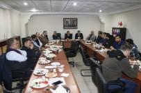 GIDA MÜHENDİSLİĞİ - Erzincan TSO Yönetimi İle Basın Mensupları Kahvaltılı Toplantıda Buluştu