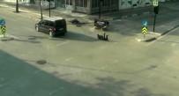 ÇARPMA ANI - Feci Kazalar MOBESE Kameralarına Yansıdı