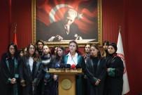 LOJİSTİK FİRMASI - Kadın Avukatlardan Mersin'deki Kadın Cinayetine Tepki