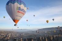 KAPADOKYA - Kapadokya'da Balonlar Lösemili Çocuklar İçin Havalandı