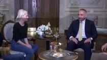 TARİHİ YARIMADA - Kültür Ve Turizm Bakanı Ersoy, Elizabeth Banks'ı Kabul Etti