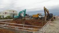 KARAYOLLARı GENEL MÜDÜRLÜĞÜ - Manavgat'ta Köprülü Kavşak Çalışmaları
