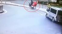 ÇÖP KONTEYNERİ - (Özel) İstanbul'da İlginç Trafik Kazaları Kamerada