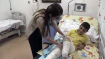 FIRAT KALKANI - Suriyeli Şevvah'ın İmdadına Vali Soytürk Yetişti