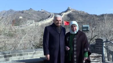 TBMM Başkanı Yıldırım, Çin Seddi'nde