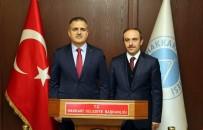 CÜNEYT EPCIM - Vali Akbıyık'dan Başkan Vekili Epcim'e Ziyaret