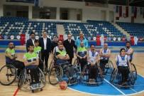 CÜNEYT EPCIM - Vali Akbıyık, Engellilerin Basketbol Maçını İzledi