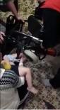 SELAHADDIN - 3 Yaşındaki Çocuğun Ayağı Tekerlekli Sandalyeye Sıkıştı
