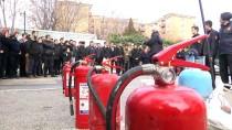İŞ SAĞLIĞI VE GÜVENLİĞİ KANUNU - AA'da Yangın Eğitimi Ve Tatbikatı