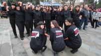 ŞİDDETE HAYIR - Alaşehir 'Kadına Ses' Oldu