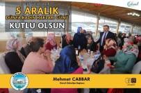 YEREL YÖNETİM - Başkan Cabbar'dan 5 Aralık Dünya Kadın Hakları Günü Mesajı