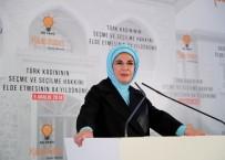 EMINE ERDOĞAN - Emine Erdoğan Açıklaması 'Kadınlarımızın Yerel Yönetimlerde Söz Sahibi Olmasını Güçlü Bir Şekilde Destekliyoruz'