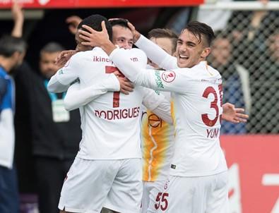 Galatasaray deplasmanda Keçiörengücü'nü yendi