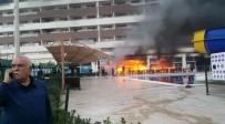 RAHMI DOĞAN - Hatay'daki Otelin Alevlere Teslim Olduğu Görüntüler Ortaya Çıktı
