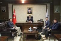 İHLAS - İHA Heyetinden Vali Çağatay Ve Başkan Durak'a Ziyaret