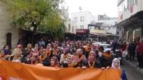ŞİDDETE HAYIR - Kilisli Kadınlar 'Şiddete Hayır' Diyerek Meydanlara İndi