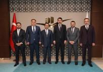MİLLİ SAVUNMA KOMİSYONU - Nevşehir Heyeti, Çevre Ve Şehircilik Bakanı Murat Kurum'u Ziyaret Etti