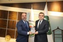 YEREL YÖNETİM - Şanlıurfa Büyükşehir Belediyesi Başkan Adayı Beyazgül'den Mevcut Başkan Çiftçi'ye Ziyaret