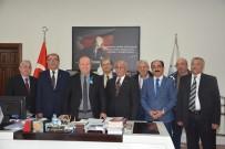 MESUT ÖZAKCAN - Tüm Emekli-Sen Aydın Şubesi'nden Başkan Özakcan'a Ziyaret