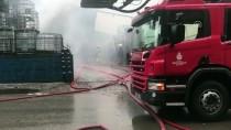 ORHANLı - Tuzla'da Fabrika Yangını Kamerada