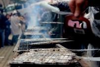 GIRESUN ÜNIVERSITESI - Üniversite Öğrencileri 400 Kilo Hamsiyi 2 Saatte Tüketti