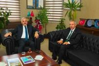 MURAT ZORLUOĞLU - Vali Zorluoğlu'ndan Rektör Battal'a Veda Ziyareti