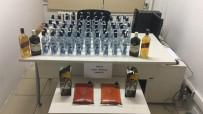 KAÇAK İÇKİ - Yılbaşında Piyasa Sürülecek 67 Adet Kaçak İçki Ele Geçirildi