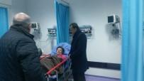 AK Partil'i Kırteke Su Kuyusunda Bulunan Kadını Ziyaret Etti
