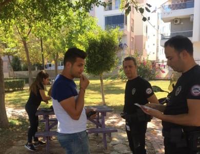 Antalya'da 'Huzurlu Parklar Ve Okul Önleri Uygulaması'