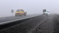 Ardahan'da Sis Ve Buzlanma Kazalara Neden Oldu