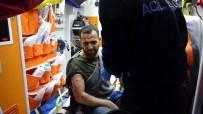 KAÇAK GÖÇMEN - Av Tüfeğiyle Vurulan Kaçak Göçmen Yaralı Halde Bulundu
