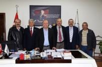 MESUT ÖZAKCAN - Aydın Çankırılılar Derneği'nden Başkan Özakcan'a Ziyaret