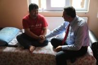 MUHABBET - Başkan Cabbar'dan Ramço'ya Geçmiş Olsun Ziyareti
