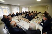 ALIM GÜCÜ - Başkan Yaşar, ATİSAN Esnafı Ve ATO Başkanı İle Buluştu