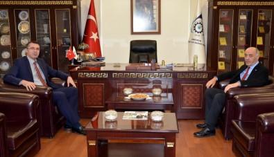 Başsavcı Bölükbaşı'dan Başkan Yücelik'e İade-İ Ziyaret