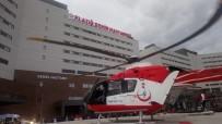 Damdan Düşen Şahıs Helikopterle Hastaneye Kaldırıldı