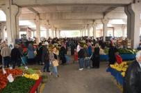 HAYVAN PAZARI - Doğu Kışla'da 122 Pazarcı Yeri Satışta