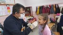 DIŞ MACUNU - Hisarcık'ta 445 Öğrencinin Dişlerine Flor Vernik Uygulaması