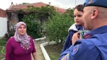 SAĞLIK MESLEK LİSESİ - 'Jandarma, Oğlumu 'Rüzgar' Gibi Hastaneye Yetiştirdi'