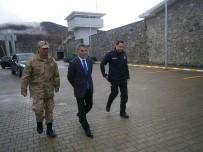 KONTROL NOKTASI - Kaymakam Özkan'dan Kontrol Noktası Ve Karakol Ziyaretleri
