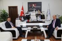 MESUT ÖZAKCAN - Kaymakam Şahin'den Başkan Özakcan'a Ziyaret