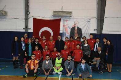 Ortatek Gaziler Ampute Spor Kulübü Futbolcu Ve Yöneticileri Kızılcahamam'da