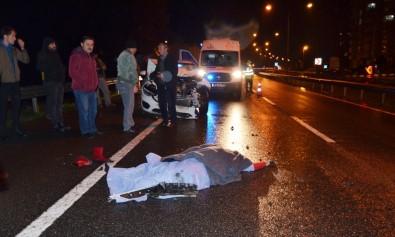Otomobilin Çarptığı Genç Kadın Öldü