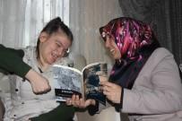 FİZİK TEDAVİ - (Özel) Fiziksel Ve Konuşma Engelli Büşra Tek Parmağı İle Kitap Yazdı