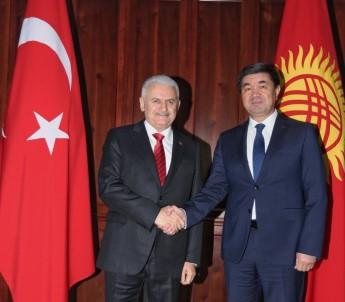 TBMM Başkanı Yıldırım, Kırgızistan Başbakanı Abulgaziyev İle Görüştü