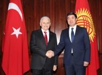 SEMİHA YILDIRIM - TBMM Başkanı Yıldırım Kırgızistan'da