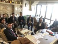SİYASİ PARTİ - Vali Yardımcısı Mustafa Çek Eğitim Bir Sen'i Ziyaret Etti