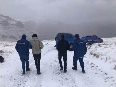 Yahyalı'da Tipide Mahsur Kalan İki Kişi Kurtarıldı